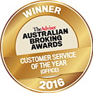 ABA Customer service award 2016